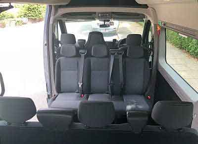 Versatile minibus hire for many passengers